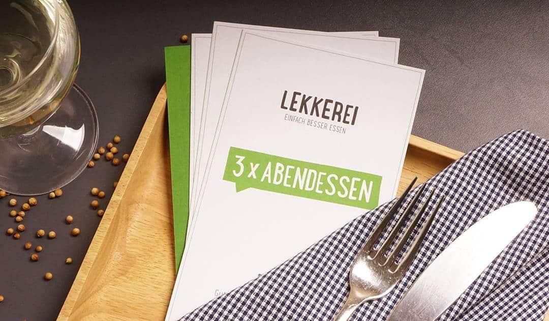 Kändlleit-Dinnr, Wochenration und Co.