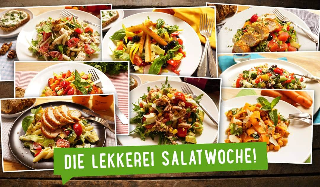 Sommer, Sonne, satt Salat! Bunter wird's nicht!