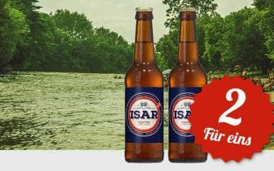 ISAR Bier: 2 für eins