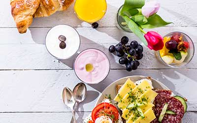 Messe Catering Frühstück