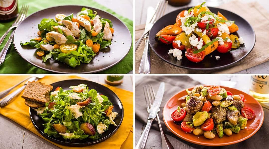 Da haben wir das Salat Catering!