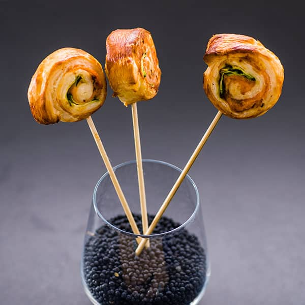 vegetarische Rollipops