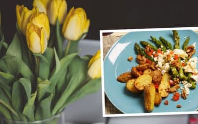 Mittagessen im Frühling mit der LEKKEREI