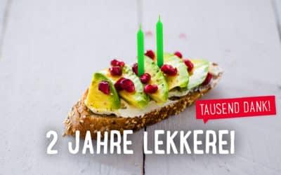 Zwei vorbei: Die LEKKEREI feiert Geburtstag