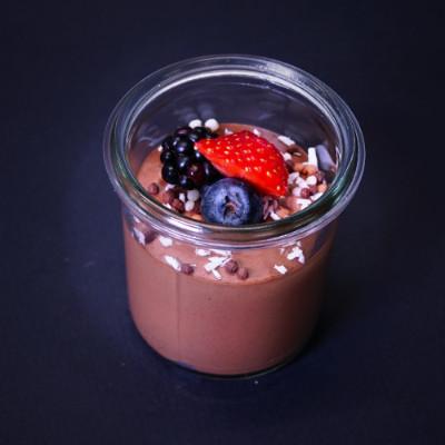 Schokoladen-Minz-Creme