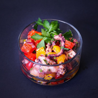 Mini-Schnitzel auf fruchtigem Bulgur