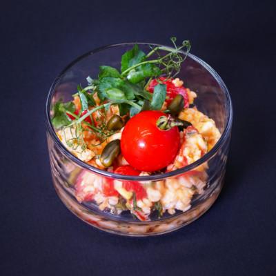 Bulgur mit Kirschtomaten & Koriander